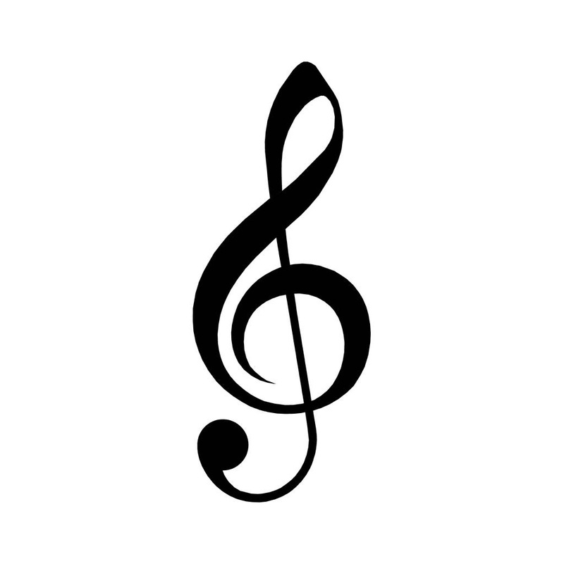 Music Symbol Treble Clef Graphic Design
